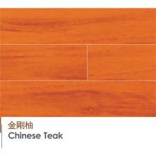 Top Qualität chinesischer Teak Engineered und laminierte Holzböden