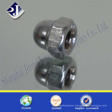 high strength carbon steel zinc plated hex dome acorn nut