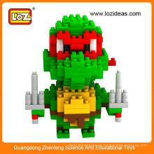 Atacado 3D adolescente mutante ninja tartarugas figura brinquedos, ninja tartarugas brinquedos figura de ação