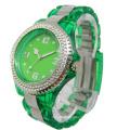 2013 Quartz Sports Transparent Plastic Watch