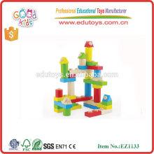 Design d'entrelacement durable Coordination des yeux Creative Brick Toys, ensemble de 35pcs