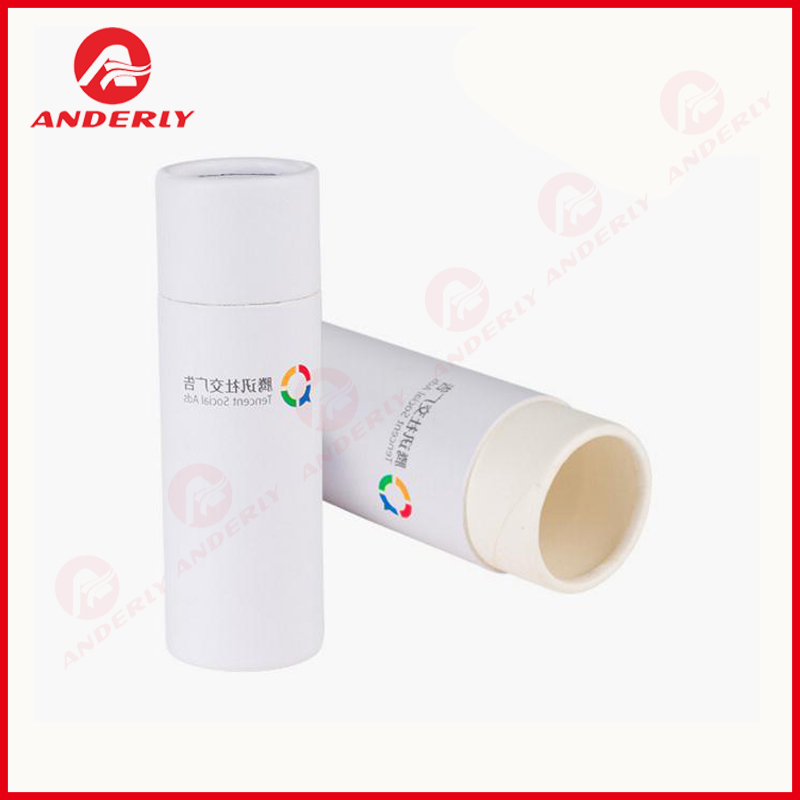 Cylindrical Paper Box Electronic USB Cables Packaging