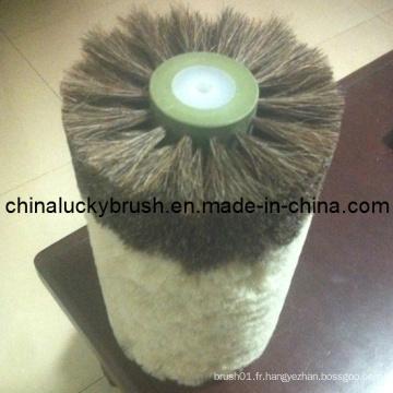 Fabrication en Chine de brosse à polir pour chaussures de mélange de cheveux (YY-008)