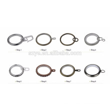 Curtain poles tracks and accessories aluminum/plastic curtain rings