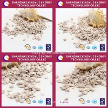 Meios de filtro de zeólita de aquicultura para tratamento de água