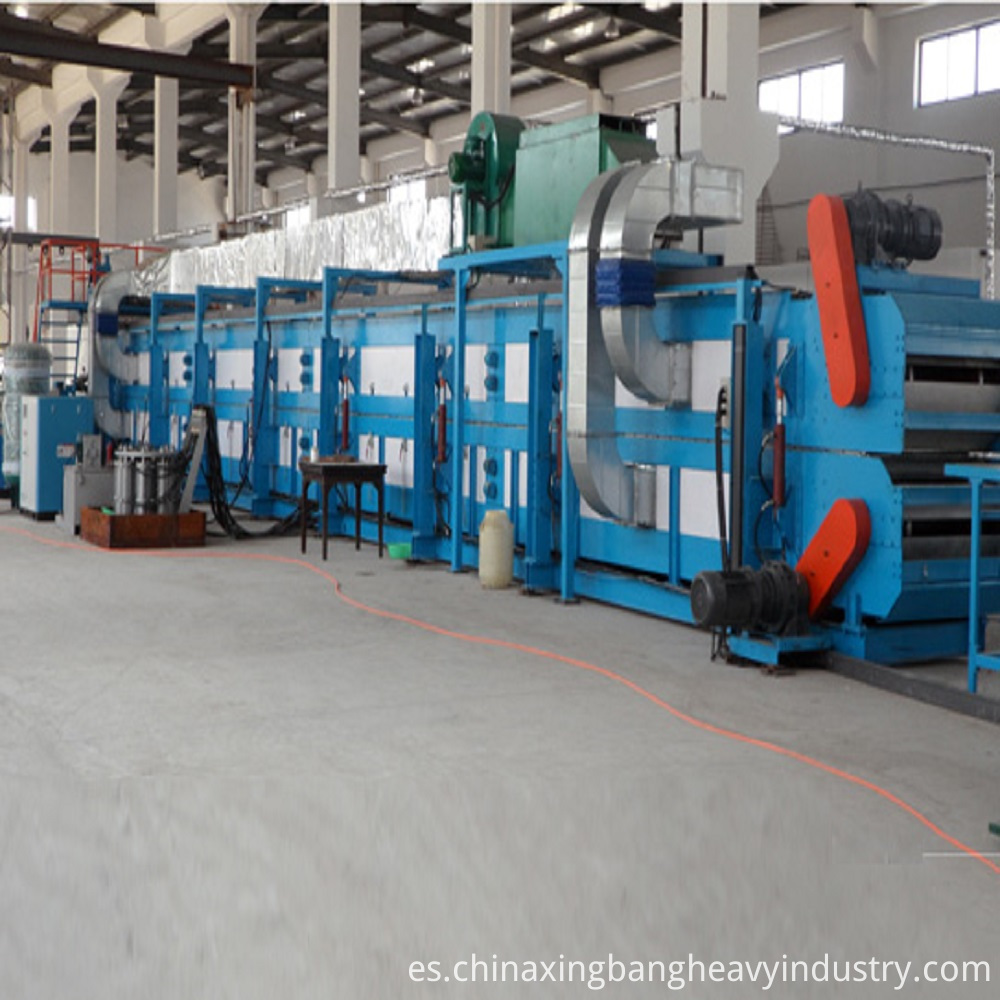 Continuous PF Insulation Board Machine