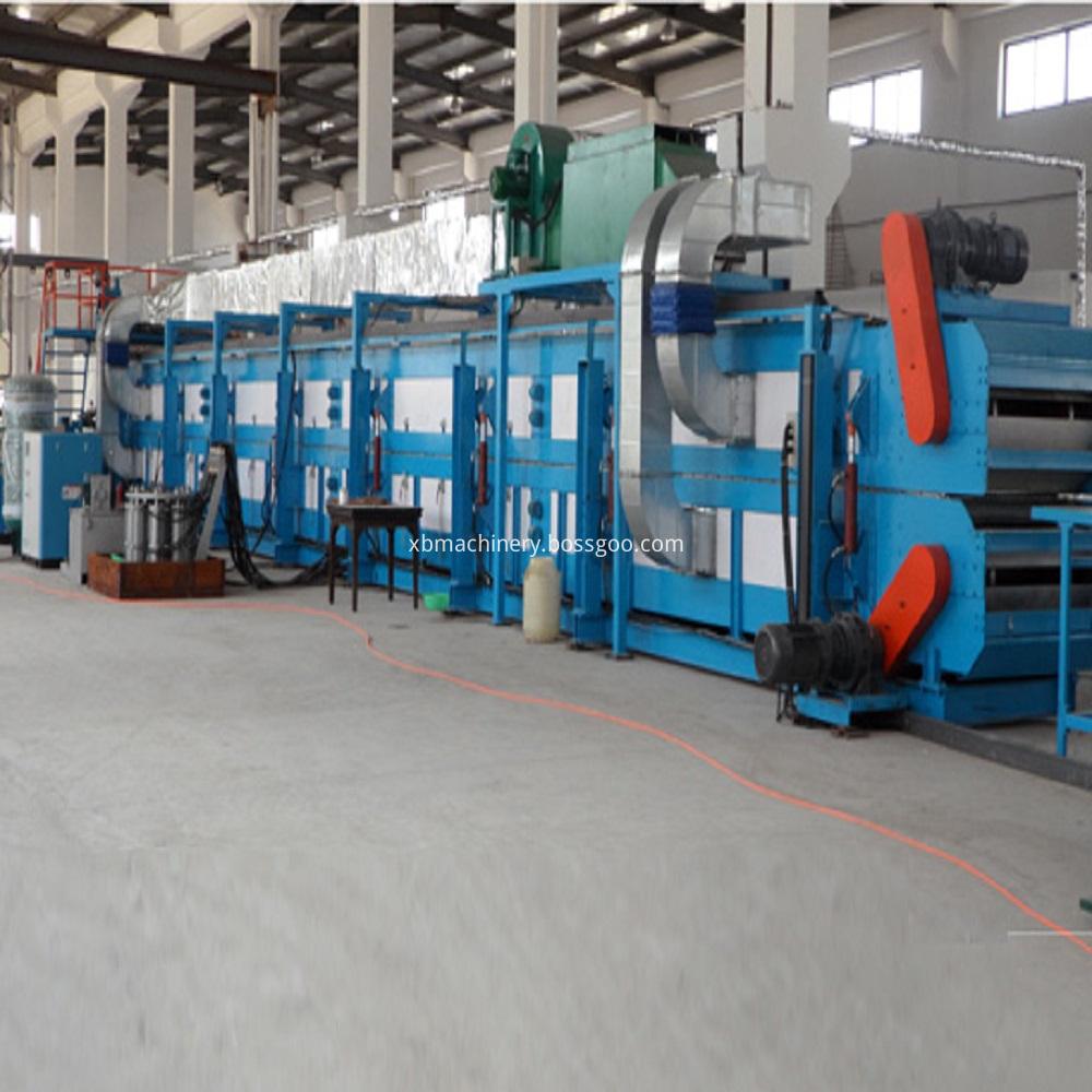 Continuous PF Insulation Board Machine
