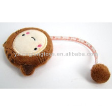 Funny novelty plush tape measure