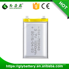 Wholesale lithium polymer battery 3.7v 1000mAh lipo battery for Digital Product