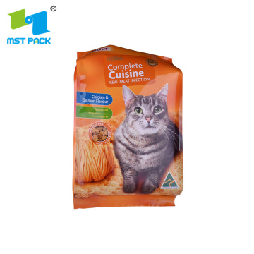 Zipper Top Freeze Fried Pet Food Storage Bag