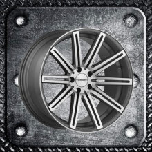 Staggered Die Cast Alloy Wheel