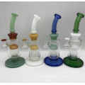 Royal Style Crystal Glass Bongs with Steady Base