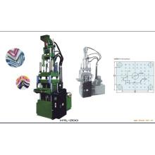 Máquina de moldeo por inyección vertical superior de PVC