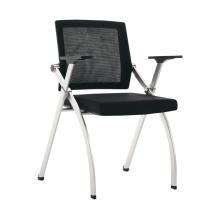 Chaise visiteur pliante en tissu pour bureau ou salle de réunion
