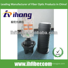 Dome/ vertical Fiber Optic splitter closure