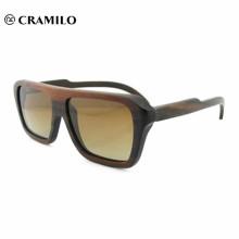 Пользовательские логотип высокого качества оптом деревянные солнцезащитные очки ручной работы из бамбука