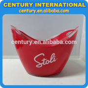 clear plastic ice buckets wholesale