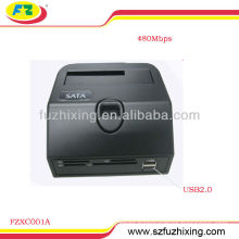 Multi-function USB2.0 SATA HDD Docking Station