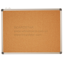Hängender Aluminiumrahmen Corkboard (BSCCO-B)