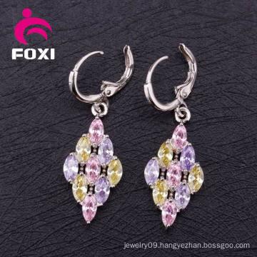 Wholesale Earring Cubic Zirconia Fashion Hoop Earring