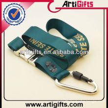 2013 Newest style polyester lanyard with metal buckle