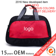 Large sports and leisure gym bag shoulder strap
