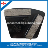 Universal Grinding Tools Trapezoid Diamond Grinding Block for Concrete and Terrazzo Floor Polishing