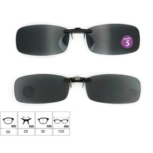 2015 Good Quality Low Price Clip on Sunglasses with with (shape 5)