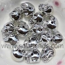 Many of 10*13MM Craft Skull Bone Shape Beads Ornament