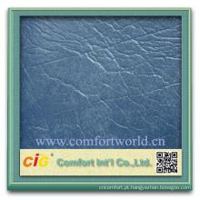 Alta barato novo estilo ningbo fabricante soft pvc útil em relevo couro para saco de sofá