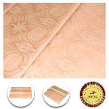 Nuevo diseño Diferentes tipos de tela Multi colores Shadda Guinea Brocade de algodón Venta al por mayor Bazin Riche chino de tela de ropa FEITEX