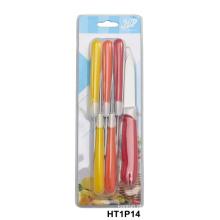 faca de cozinha com cabo de duas cores