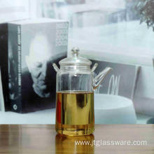 Heat Resistant Glass Teapot With Glass Infuser