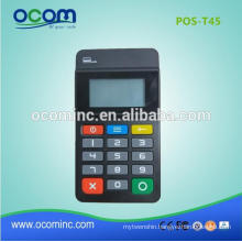 POS-T45 Factory bluetooth numeric keypad with LCD display