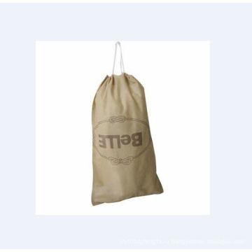 Маленький Сплетенный мешок с печатание слов (GZHY-дБ-015)