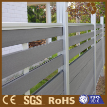 WPC Spacing of Garden Horizontal Fence for Privacy