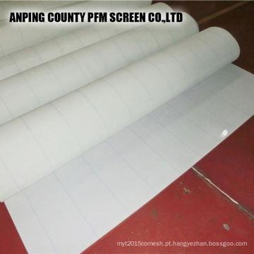Tecido de formação de poliéster para fabricação de papel