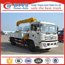 Dongfeng 8 Ton XCMG телескопический стрела грузовик с краном для продажи