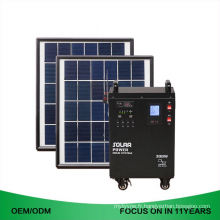 Dc à à la maison utilisent le système d'énergie solaire hybride portatif entier 5Kw 6W