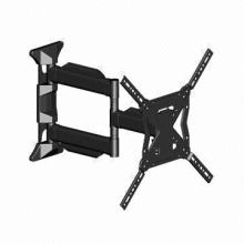 Universal Swing LCD TV Wall Mount, Made of Cold Roll Steel Pipe, Suitable for 26 to 47-inch Screen