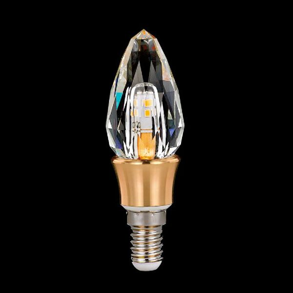 E14 led crystal candle bulb