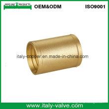 Acoplamiento masculino de cobre amarillo de calidad superior modificado para requisitos particulares (AV-BF-9002)