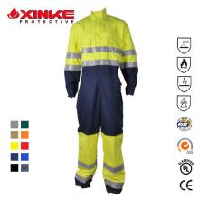 Baumwolle Polyester Blau Tragen Sie raue Arbeitskleidung