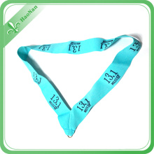 100% Eco-Friendly Polyester Material Double Face Kundenspezifische Medaille Band