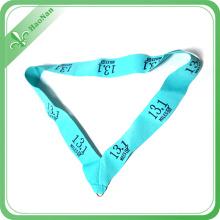 Ruban adapté aux besoins du client par médaille matérielle 100% qui respecte l'environnement de polyester double
