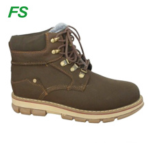 Nubuck leather for safety work boots