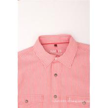 Derniers modèles de chemises décontractées pour hommes à rayures