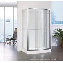 Caja de ducha corrediza con marco de aluminio Hf-Qabf812