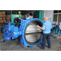 Dn1200 Double Flange Butterfly Valve
