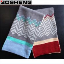 Inverno quente brilhante cor suave malha lenço Infinity